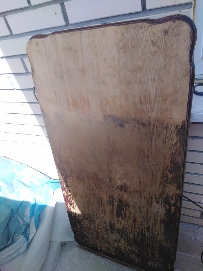 Реставрация деревянного стола Рукоделие без процесса, Стол, Реставрация, Любитель, Длиннопост