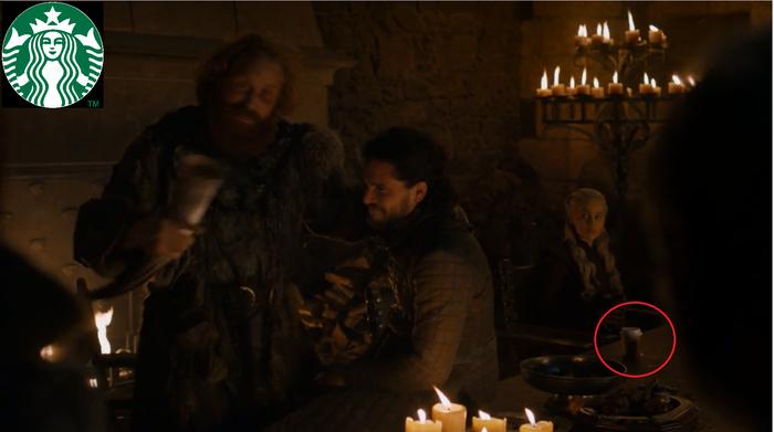 Когда вино уже не лезет, и ты решаешь попить кофейка. Игра престолов, Не спойлер, Starbucks, Спойлер, Кофе