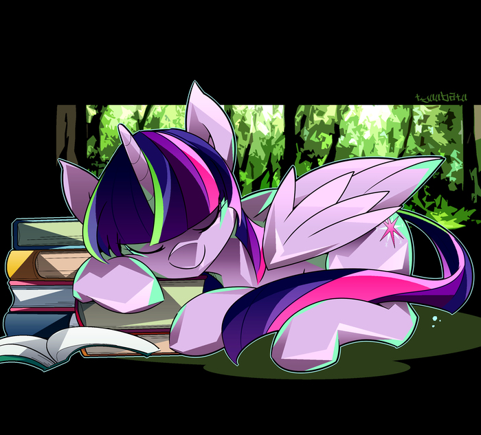 Твайлайт My Little Pony, Ponyart, Twilight Sparkle, Tyuubatu
