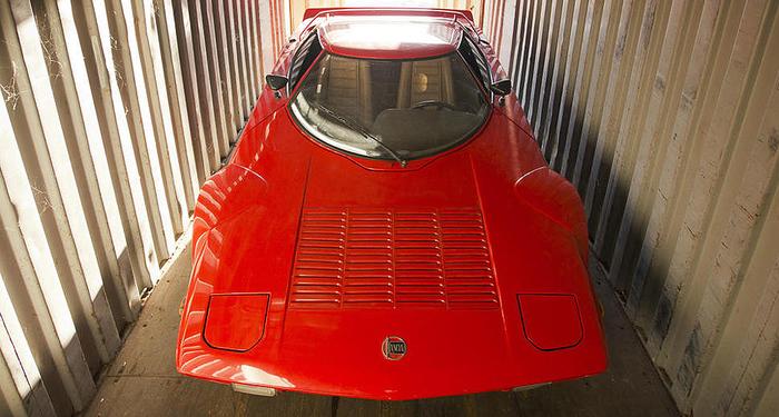 Открыли морской контейнер, а там уже больше 20 лет стоит Lancia Stratos! Лянча, Стратос, Спорткар, Находка, Контейнер, США, Италия, Гонки, Длиннопост