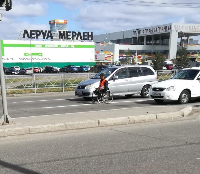 Я МАШИНА! Машина, Инвалидная коляска, Красноярск, 9 мая, Длиннопост