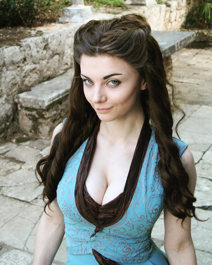 Margaery Tyrell from Game Of Thrones cosplay Косплей, Маргери Тирелл, Игра престолов, Сериалы, Девушки, Сиськи, Длиннопост