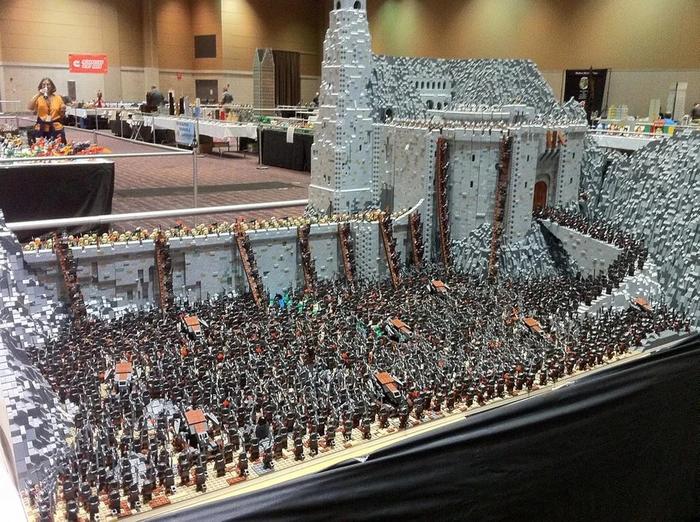 Хельмова Падь из LEGO