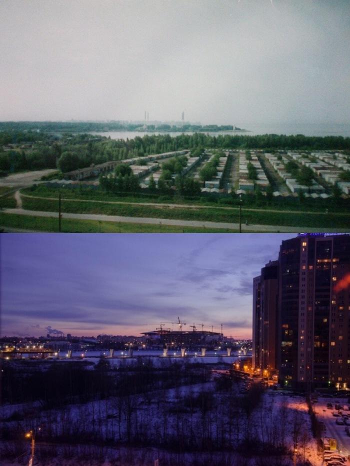 Разница между фото 15 лет)