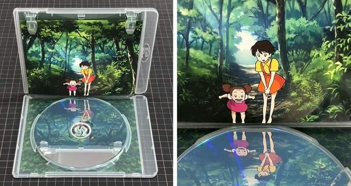 Отражение DVD как часть дизайна коробки