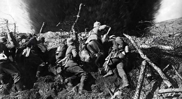 В чужие окопы: как немцы к англичанам лезли Длиннопост, История, Война, Германия, Англия, Оружие