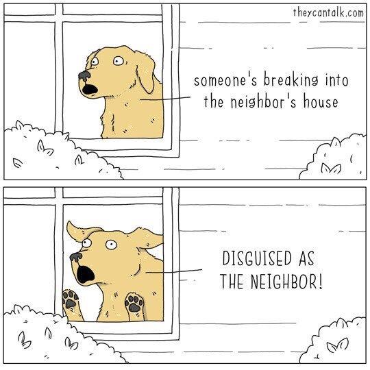 Ограбление Перевод, Комиксы, They can talk, Собака