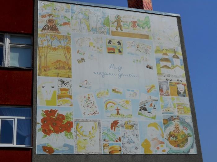 Граффити (так же как и стрит-арт) должны украшать стены, а не уродовать их #96 Граффити, Стрит-Арт, Уличная живопись, Череповец, Школа, Длиннопост