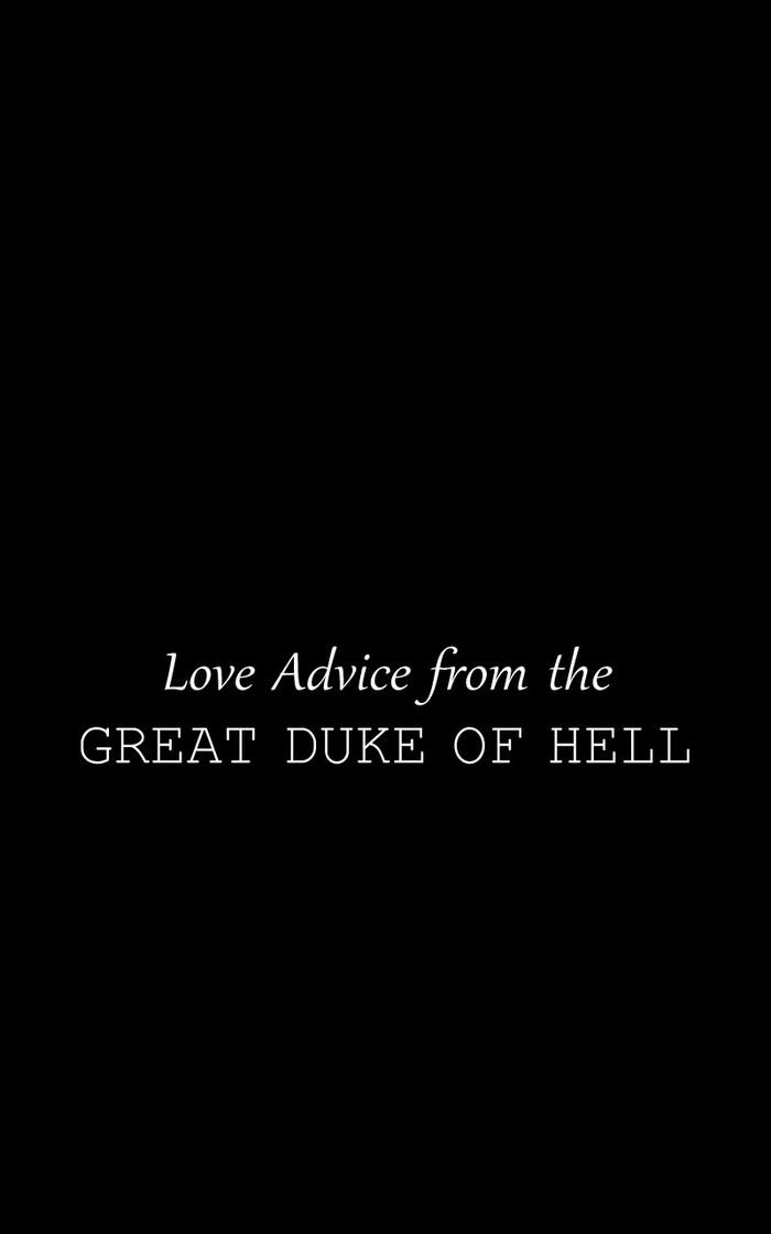 Love Advice from the Great Duke of Hell (Ep.29) Laftgdoh, Unfins, Перевел сам, Перевод, Длиннопост, Комиксы