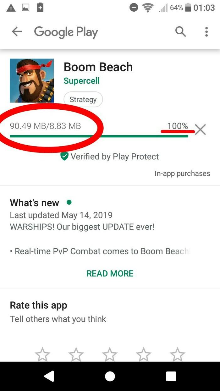 Так вот почему память в телефоне постоянно забита! Google Play, Скриншот