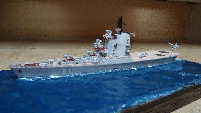 Боевое траление летом 1974 г. в Суэцком заливе в Красном море. Моделизм, Стендовый моделизм, Корабль, Фигурка, Длиннопост