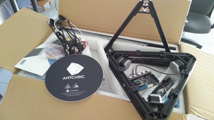 Anycubic Kossel Plus - превращение в mechanicus 3D принтер, 3D печать, Anycubic, Delta, Kossel, Апгрейд, Доработка, Самоделки, Видео, Длиннопост