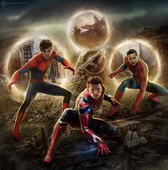 Первые или вторые? Marvel, Comicsbook, Мстители, Мстители: Финал, Человек-Паук, Сорвиголова, Тоби Магуайр