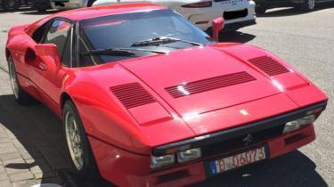 """""""Феррари"""" за 2 млн евро угнали во время тест-драйва Ferrari, Германия, Угон"""