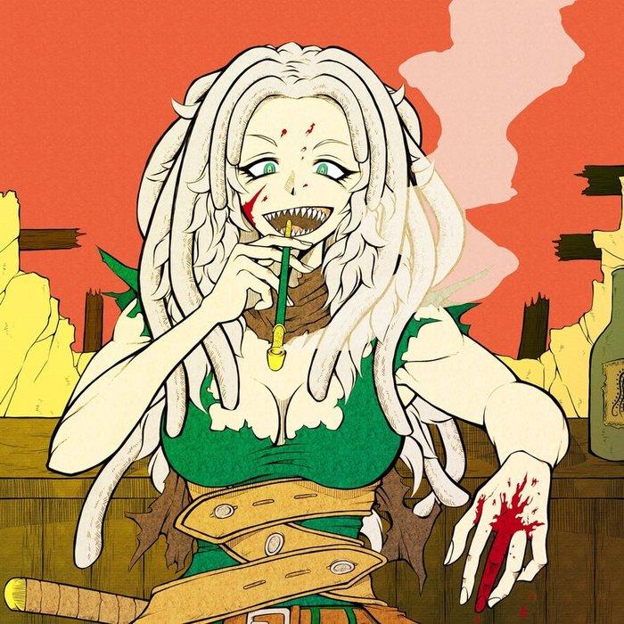 Monster Girl by TKmoai0404 Monster Girl, Original Character, Tkmao0404, Anime original, Длиннопост