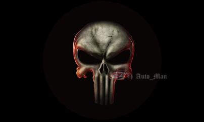 Заявка в лигу рукожопов (part 2) В лигу рукожопов, Подарок, Длиннопост, Почти своими руками, Punisher, Автолюбители, 3D печать