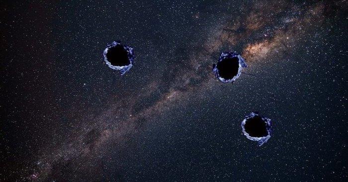 Что-то неизвестное словно пуля пробило дыру внутри Млечного Пути Млечный путь, Астрономия, Вселенная, Загадка, Длиннопост