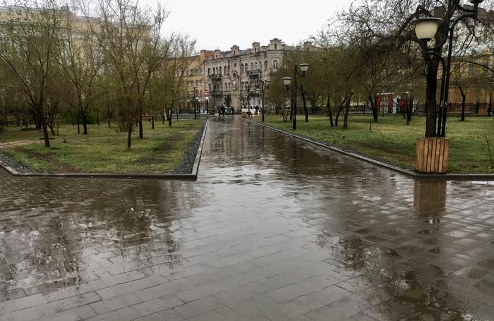 Фотографии во время дождя Фотография, Дождь, Дорога, Мобильная фотография, Длиннопост
