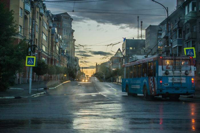 Рязань. 2016 год Начинающий фотограф, Рязань, Гроза, Фотография, Длиннопост