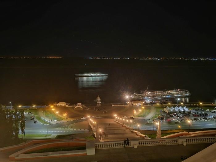 Нижний Новгород Нижний Новгород, Чкаловская лестница, Honor 8