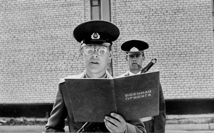 Военная фамилия. Советская армия, Юмор
