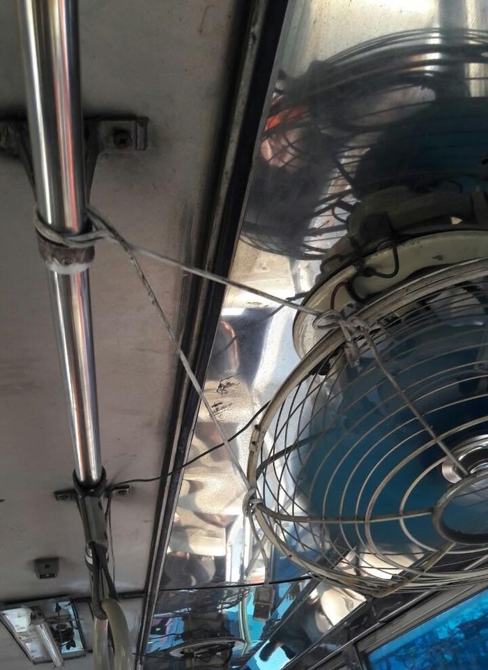 Современные проблемы требуют современных решений Смекалка, Бангкок, Автобус, Вентилятор, USB