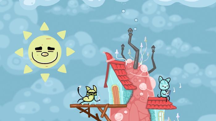 Грибные Коты. Добрая сказка про волшебный Мухомор и его жителей... Грибные Коты, Mushroom Cats, Free to Play, Steam, Коты и Грибы, Длиннопост