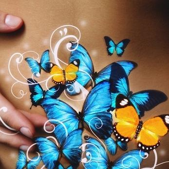 Про бабочек. Задумался, Любовь, Молчание, Наедине