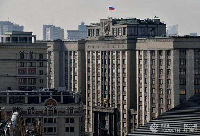 Здание Госдумы могут признать аварийным Здание, Правительство