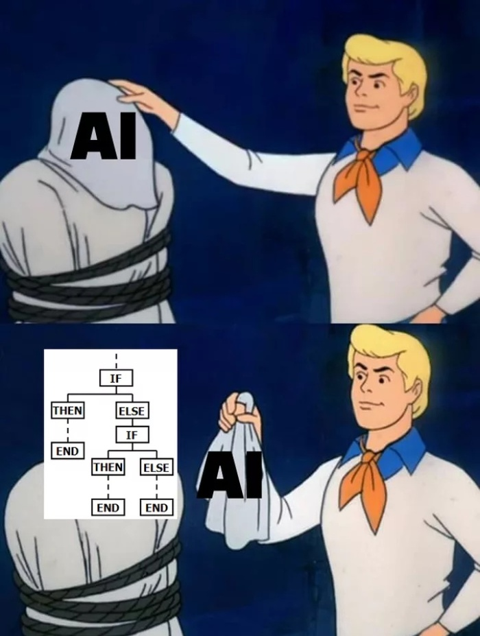 Когда разработчики говорят что создали искусственный интеллект