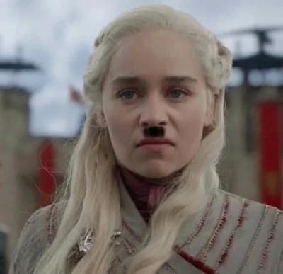 Эмилия Кларк вдохновлялась Гитлером для роли Дейенерис в «Игре престолов» Игра престолов, Игра престолов 8 сезон, Дейенерис Таргариен, Эмилия Кларк, Спойлер