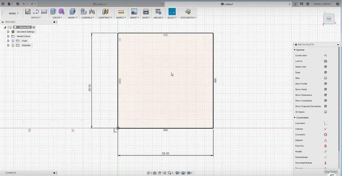 Fusion 360. Знакомство с программой и первая деталь. 3д-Моделирование, Fusion 360, 3D печать, Видеоуроки, Видео, Длиннопост