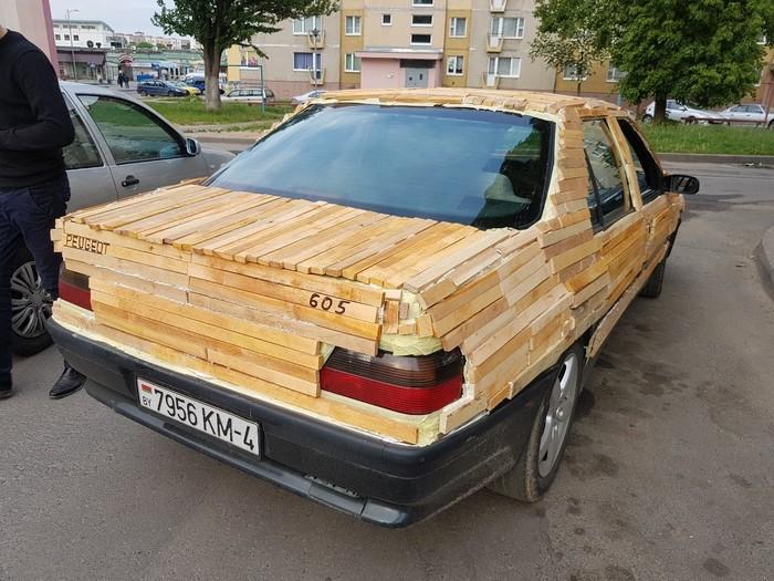 Городской паркетник) Беларусь, Веселье, Автотюнинг