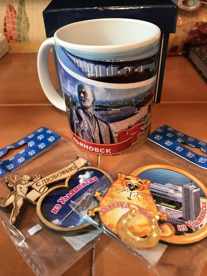 Кружкообмен Ульяновск - Москва Кружкообмен, Ульяновск, Отчет по обмену подарками, Обмен подарками