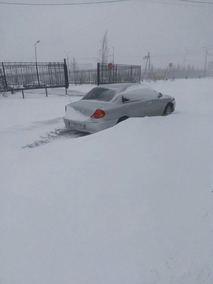 Припорошило Ямал, Снег, Неожиданно