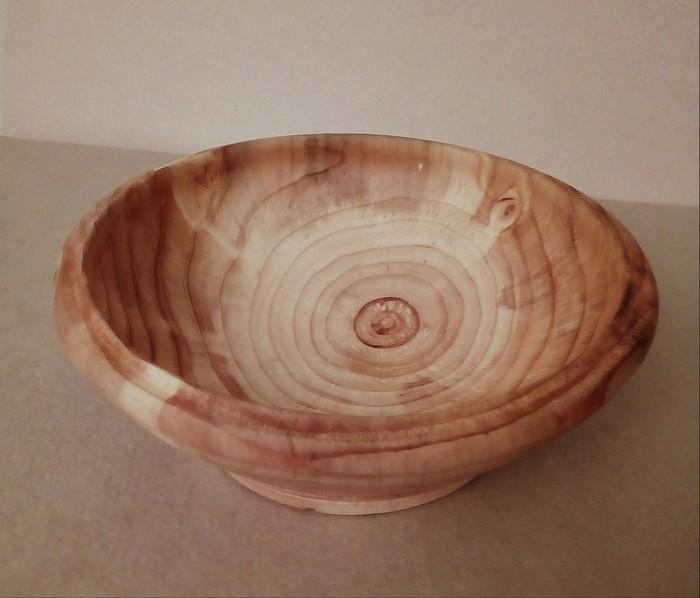 Деревянная тарелка . Своими руками, Рукоделие без процесса, Токарка, Посуда, Изделия из дерева
