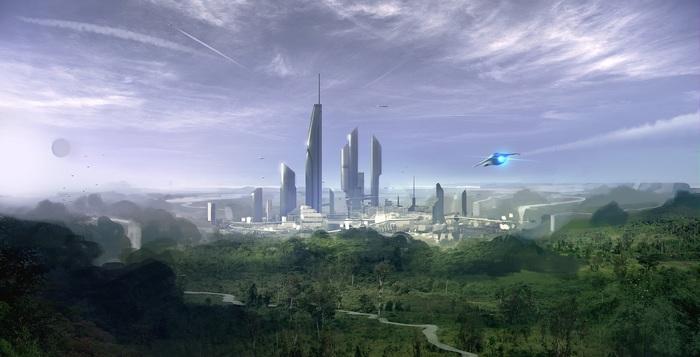 StarCitizen_Story - Ранний путь Ч-1 Космос, Star citizen, Рассказ, Фантастика, Компьютерные игры