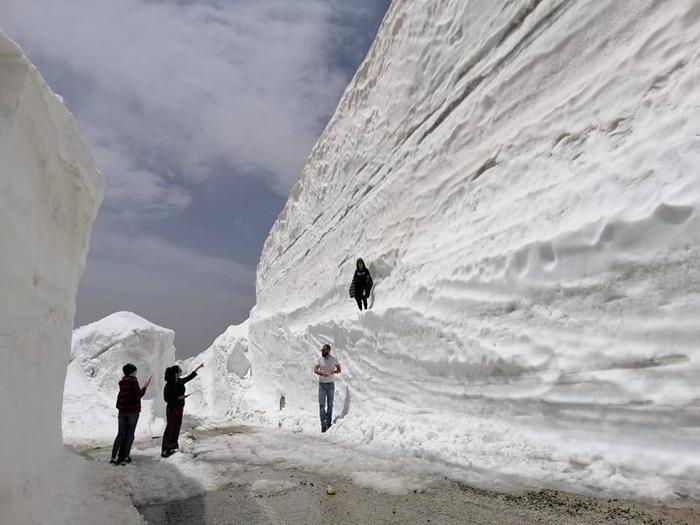 Контраст Погода, Снег, Жара