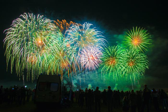 Ессентуки, международный чемпионат пиротехнического искусства PyroFivePeaks 2019. Длиннопост, Фейерверк, Пиротехника, Чемпионат, Ессентуки