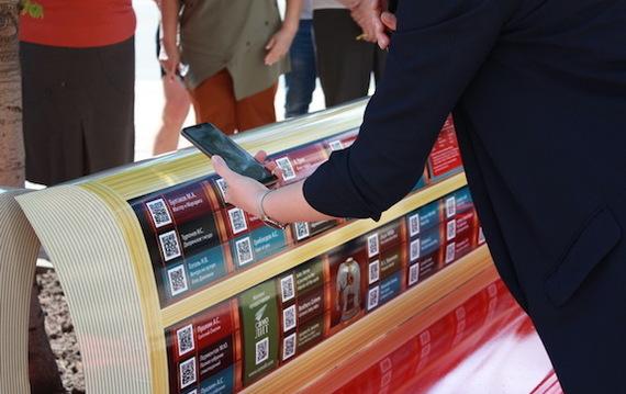 В Рязани установили литературные скамейки Книги, Новости, Литература, Электронные книги