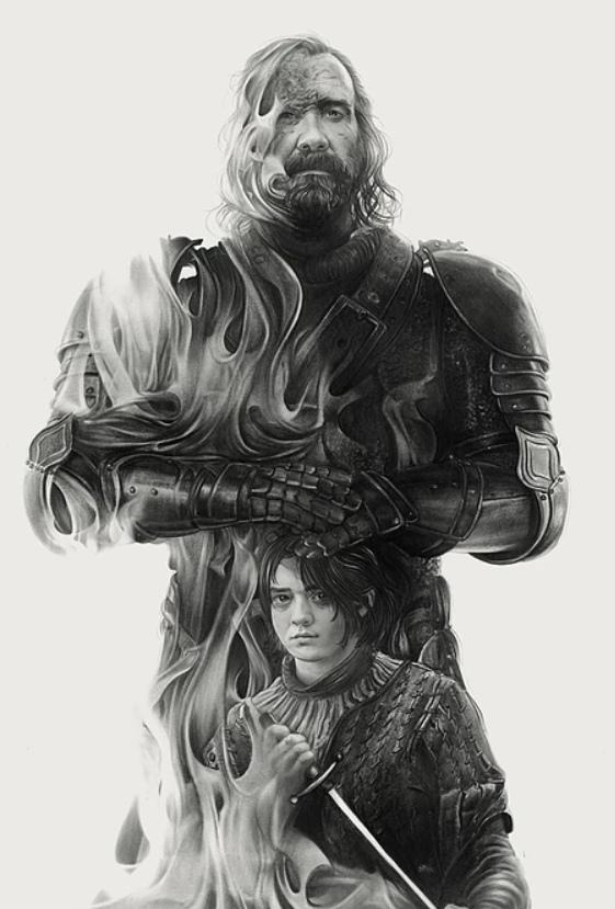 """Портреты персонажей """"Игры престолов"""" от от Greg Ruth"""