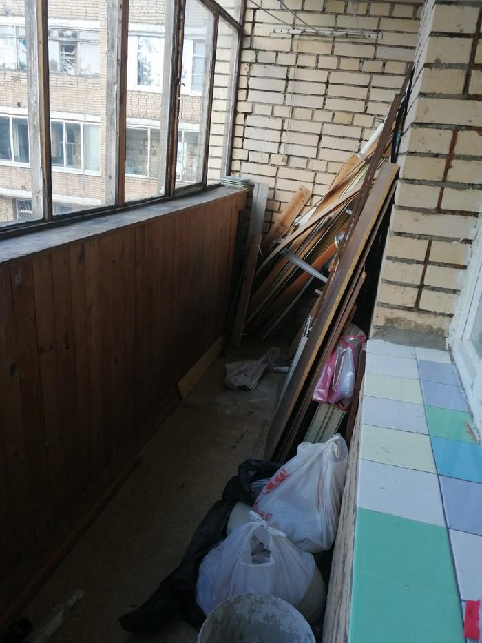 Место для отдыха из захламленного балкона Балкон, Кальян, Колхоз, Длиннопост