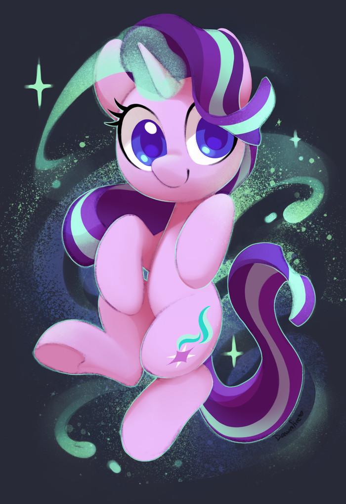 Глимми My Little Pony, Ponyart, Starlight Glimmer, Celebi-Yoshi
