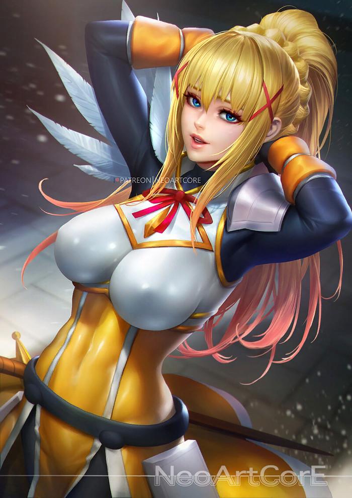 Darkness Konosuba, Darkness, Anime Art, Аниме