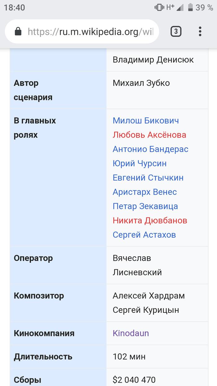 Отголоски протеста в Вики Badcomedian, Кинокритика, Википедия, Скриншот, Правка википедии