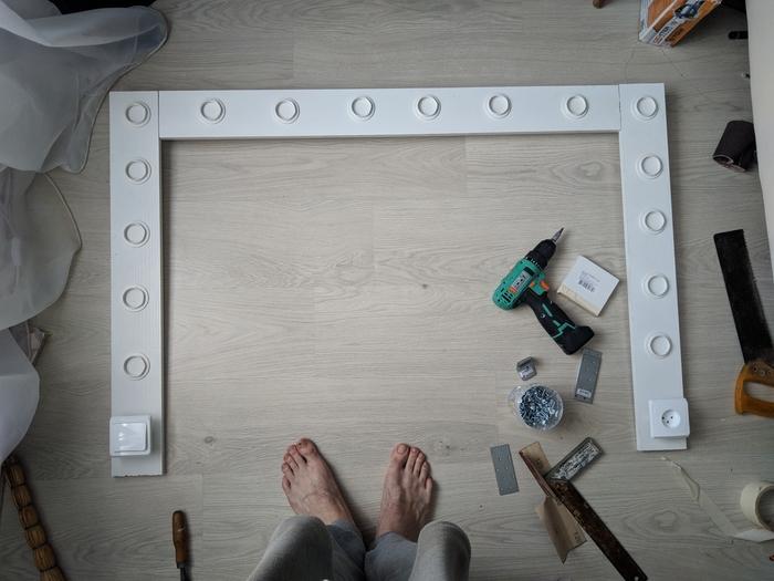 Зеркало с лампочкамм Гримерное зеркало, Ох уж эти женщины, Длиннопост
