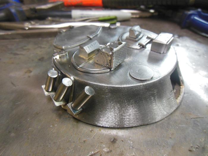 МодельБРМ-1К из железа Длиннопост, Моделизм, Танки, Брм, Drive2