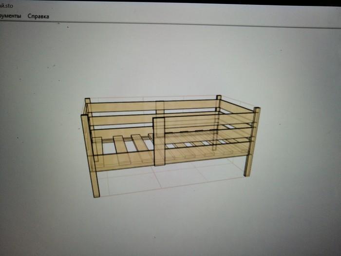 И снова кровать (часть первая) Хобби, Своими руками, Дерево, Работа с деревом, Изделия из дерева, Рукоделие с процессом, Длиннопост