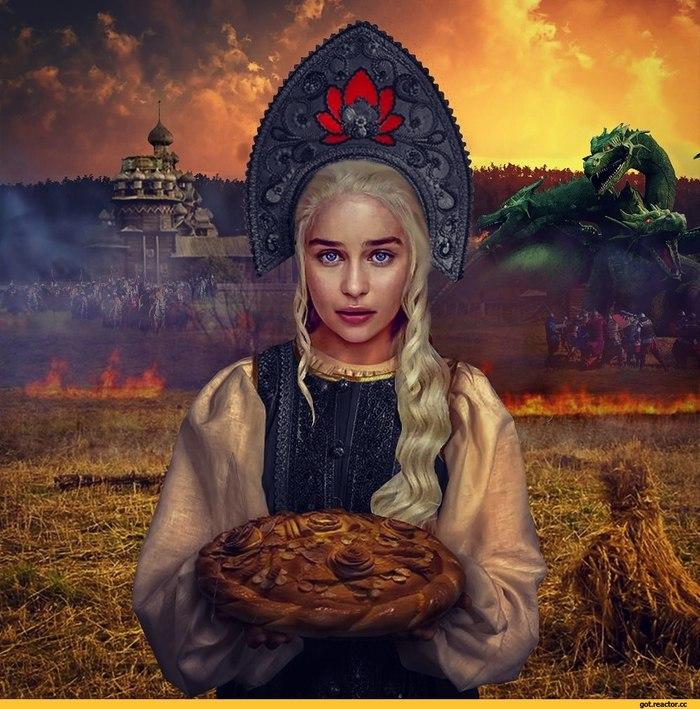 """Если бы """"Игра Престолов"""" была славянским фэнтези Игра престолов, Пародия, Славянское фэнтези, Длиннопост"""