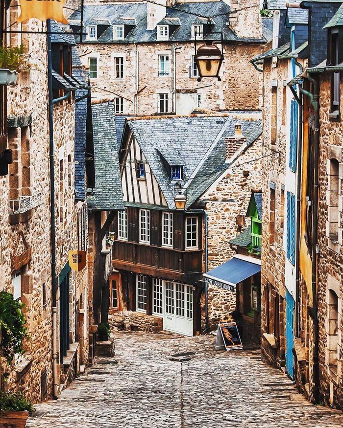 Бретонский городок Динан / Dinan, Bretagne, France